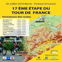 Tour de France : perturbations sur les routes vaudoises