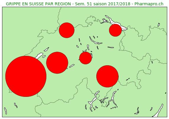 En Suisse romande la grippe est désormais très répandue (27.12.2017)